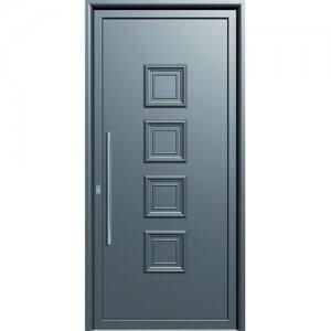Πόρτα Ασφαλείας Αλουμινίου Κατηγορία 4